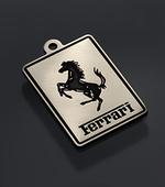 """Tag for dog """"Ferrari"""" var.2"""