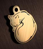 Медальон для кошки
