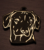 Адресник для собаки породы Риджбек