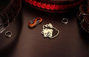 Dog tag for Alaskan Malamute