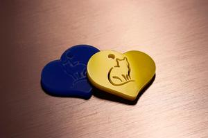 Сердце c кошкой