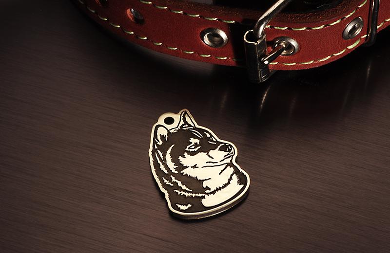 Адресники для собак породы Сиба ину