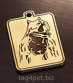 Tag for dog breeds Staffordshire terrier