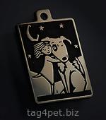 Медальон для собак