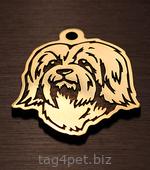 Медальон для собак породы Гаванский бишон