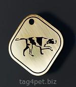 Жетон для собак породы Дратхаар
