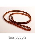 Поводок для собак, 10 мм, рыжий