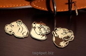Медальон для собаки Кане Корсо