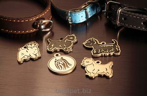 Медальоны для самых маленьких собак