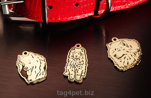 Медальоны для Самоедских собак