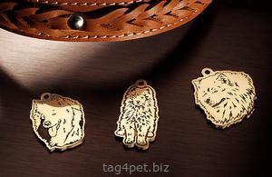 Медальоны для собак породы Самоед