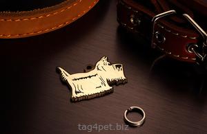 Медальон для собаки Шотландский терьер