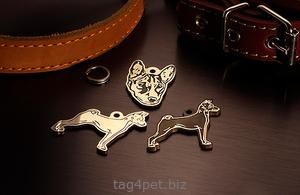 Медальоны для породы собак Басенджи