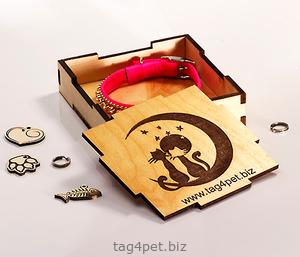 Подарочная коробка для ошейника