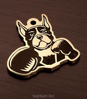 Медальон для собаки Немецкий боксер