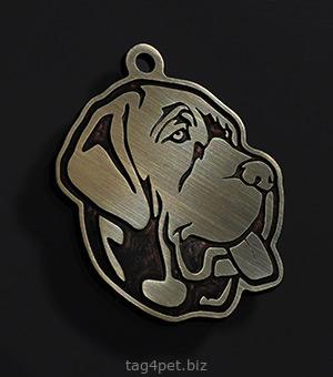Адресник для собаки породы Бульмастиф