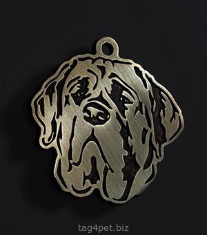 Жетон для собаки породы Бульмастиф