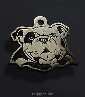 Tag for dog English Bulldog