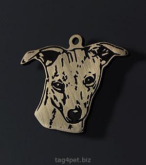 Адресник для собаки породы Левретка