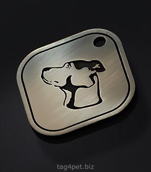 Жетон с гравировкой для гончих собак