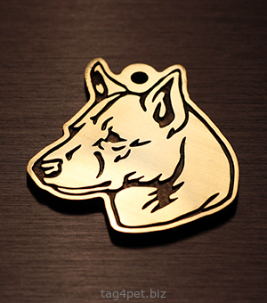 Медальон для породы  Ханаанская собака