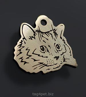 Адресник для Сибирской кошки