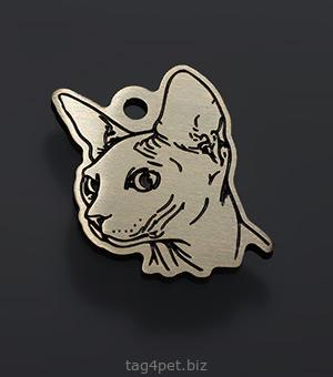 Адреный медальон для котов и кошек породы Сфинкс