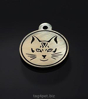 Жетон для котов и кошек всех пород