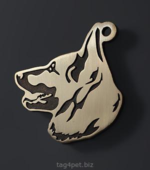 адресник для собаки породы Восточноевропейская овчарка