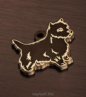 Медальон для собаки породы Норвич терьер